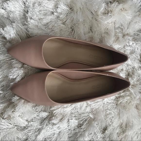 Aldo Shoes - NWOT ALDO pink patent block heels, size 7